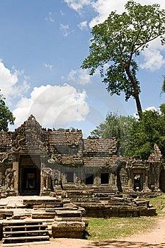 Preah Khan Portrait Royalty Free Stock Photography - Image: 17213507