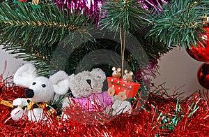Christmas Trinkets Royalty Free Stock Photo - Image: 17213565