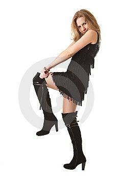 High Boots Stock Photos - Image: 17215253