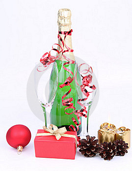 Christmas And New Year's Setting Stock Photo - Image: 17215500