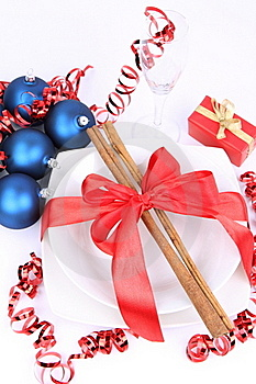 Christmas Or New Year's Setting Royalty Free Stock Photography - Image: 17215727