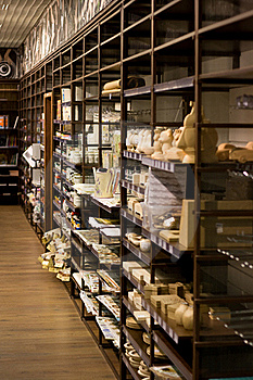 Art Store Shelves Royalty Free Stock Image - Image: 17216916