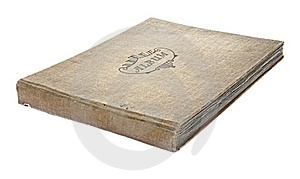 Old Worn Photograph Album Stock Image - Image: 17217281