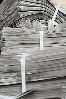 New Newspapers Royalty Free Stock Photo - Image: 17217595