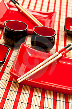 Sushi Set Royalty Free Stock Photo - Image: 17218955