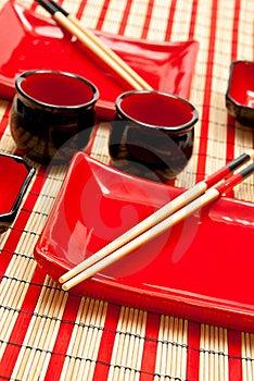 Sushi Set Royalty Free Stock Photo - Image: 17218955