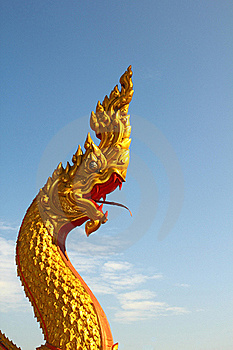 Thai Dragon Royalty Free Stock Photos - Image: 17219838