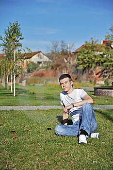 Attractive Young Man Royalty Free Stock Photos - Image: 17220428