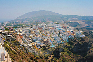 View Of Fira In Santorini Royalty Free Stock Photo - Image: 17222245