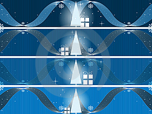 Separated Banners Eps8 Stock Images - Image: 17222364