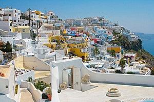 City Of Fira In Santorini Stock Photo - Image: 17222560