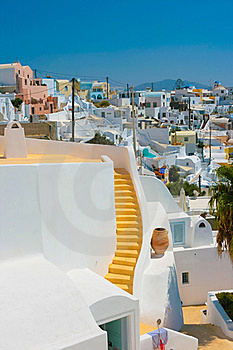 View Of Fira In Santorini Stock Photo - Image: 17222570