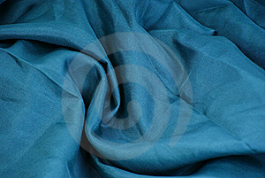 Green Textile Waves Stock Photography - Image: 17223172