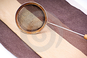 Sieve For Brewing Royalty Free Stock Photos - Image: 17223208