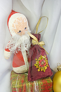 Santa Claus With A Bag Of Gifts Stock Photography - Image: 17223572