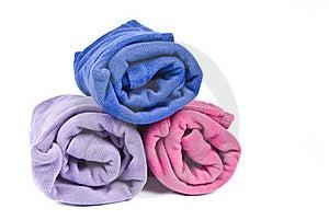 Colorful Polar Fleece Stock Photography - Image: 17225352