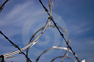Barb Wire Stock Photos - Image: 17225893