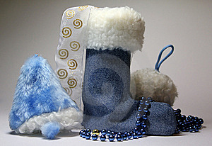 Bell Boots And Snow Royalty Free Stock Images - Image: 17226739