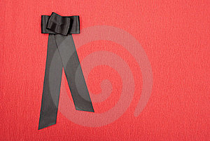 Black Bow Stock Images - Image: 17233464