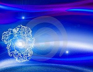 Beautiful Blue Background Stock Images - Image: 17235044