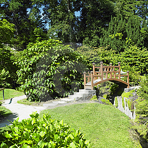 Japanese Garden Stock Images - Image: 17237354