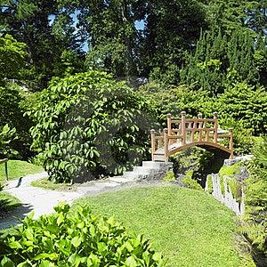 Japanese Garden Stock Images - Image: 17237354