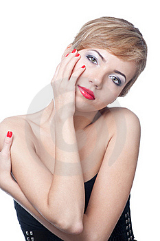 Portrait Of Beautiful Woman Stock Image - Image: 17238471