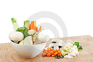 Soup Vegetables Royalty Free Stock Image - Image: 17238826