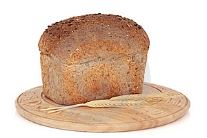 Rustic Bread Loaf Stock Image - Image: 17238941