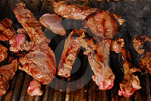Steak Barbecue Royalty Free Stock Photos - Image: 17239848
