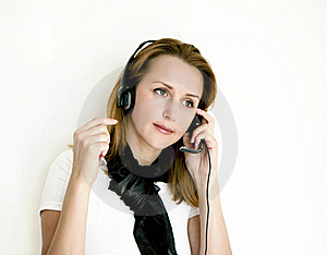 Headset Stock Images - Image: 17247334
