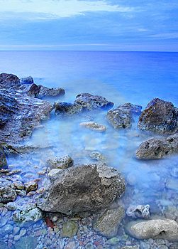 Stone And Mist Royalty Free Stock Photography - Image: 17248017