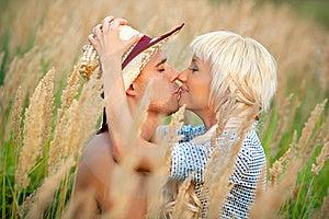 Portrait Of Love Couple Stock Photos - Image: 17248053