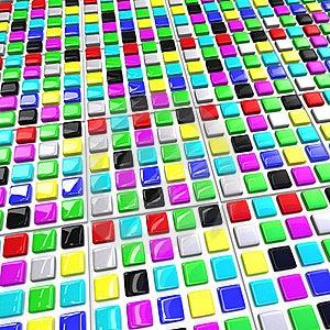 Array Color Blocks Stock Photos - Image: 17248713