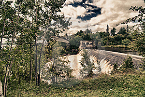 Montmorency Falls, Quebec Royalty Free Stock Photography - Image: 17249457