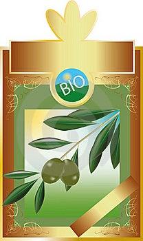 Label Olive Oil Stock Image - Image: 17249931