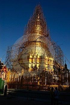 Repair Gold Temple Royalty Free Stock Photos - Image: 17250458