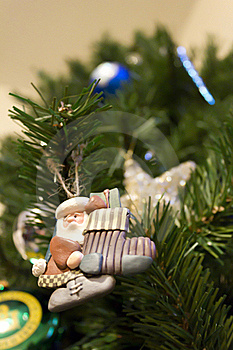 Christmas Tree & Ornament Stock Images - Image: 17252144