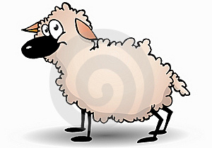 A Cute Ram Sheep Royalty Free Stock Images - Image: 17252479