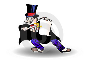 Magician Illustration Royalty Free Stock Photography - Image: 17252557
