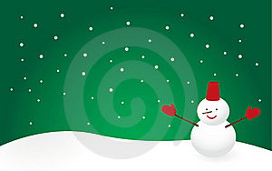 Snowman Stock Images - Image: 17252834