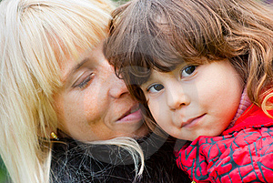Happy Mother And Daughter Stock Photos - Image: 17253863
