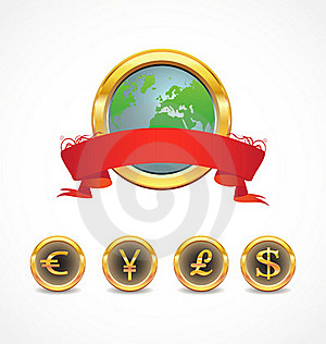 World Currency Royalty Free Stock Photography - Image: 17254067