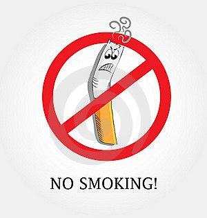 No Smoking Royalty Free Stock Images - Image: 17254069