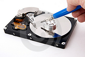 Open Hard-drive Royalty Free Stock Images - Image: 17255829
