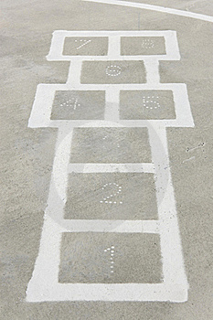 Hopscotch Stock Images - Image: 17257504