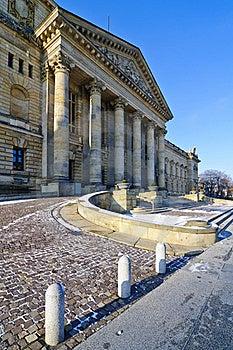Bundesverwaltungsgericht In Leipzig Stock Photography - Image: 17260132
