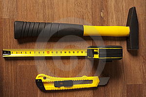 Composition Of Tools Royalty Free Stock Image - Image: 17264026