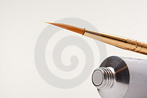 Tube Of Paint Royalty Free Stock Image - Image: 17264846