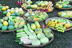 Fruit Thai Vegetables Stock Image - Image: 17266881